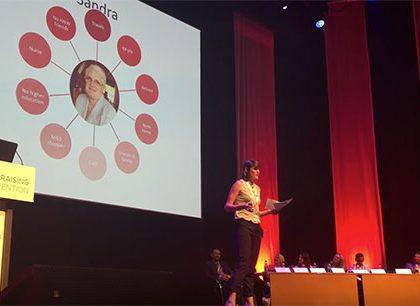Lizzi Hollis – Rising Star at IoF Fundraising Convention 2016
