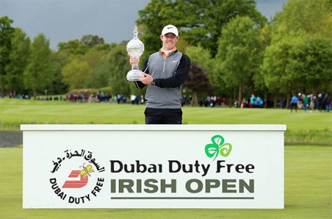 Rory McIlroy at Irish Open 2016 - photo: Rory Foundation on Facebook