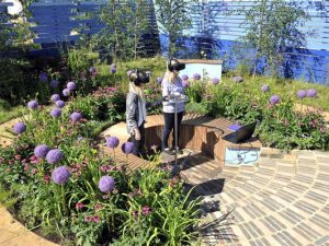 Cancer Research UK thanks legacy supporters with virtual reality garden