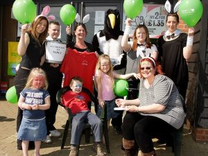SPAR raises over £5m in 10 years for NSPCC