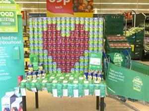 Tesco Neighbourhood Food Collection collects 2.8m meals