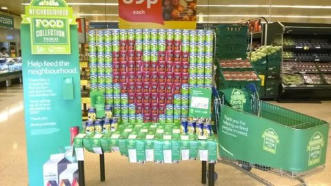tesco food collection