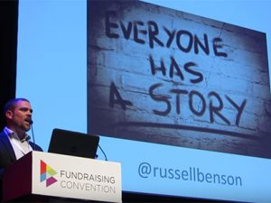 Russell Benson – Rising Star at Fundraising Convention 2016