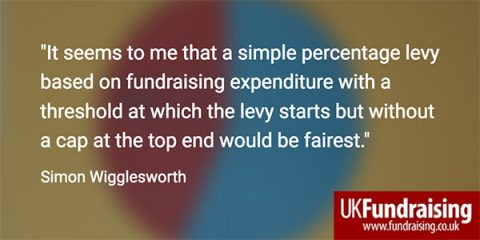 Simon Wigglesworth Fundraising Levy Quotation