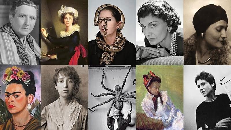 Auction of women artists' work at Barnebys