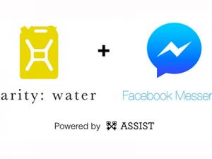Charity: water takes donations via Facebook Messenger bot