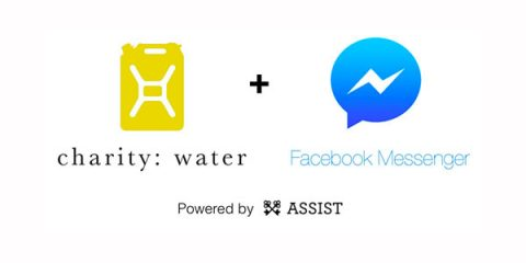 Charity: water and Facebook Messenger bot
