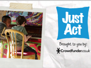Just Act announces extra £50k funding on Crowdfunder