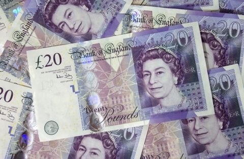 money £20 notes