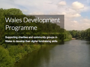 Free online fundraising training for charities in Wales