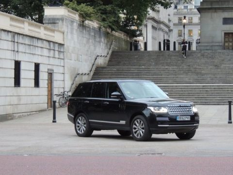 Prince William Range Rover