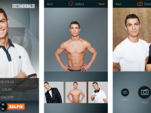 Ronaldo app raises funds for Save the Children