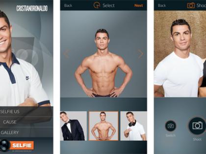 Ronaldo app raises funds for Save the Children