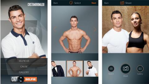Ronaldo selfie app