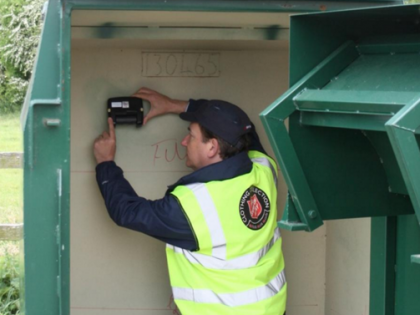 Salvation Army trials collection bank sensors to monitor fill levels