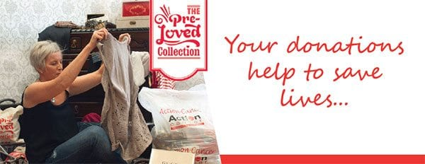 Action Cancer PreLoved Clothing campaign. Image: Action Cancer