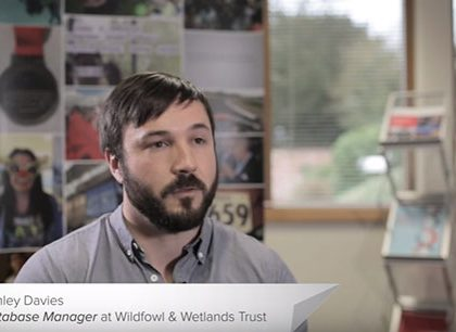 Wildfowl & Wetlands Trust fundraising CRM success video