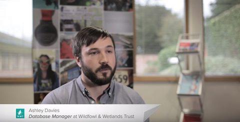 Ashley Davis, WWT Database Manager