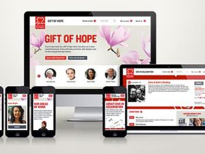 British Heart Foundation improves design of two of its fundraising sites