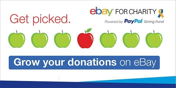 eBay for Charity - get picked.