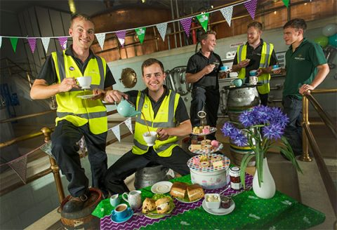 Greene King staff support Macmillan's World's Greatest Coffee Morning
