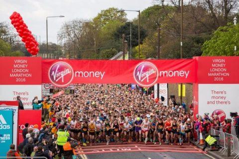 Virgin Money London Marathon 2016