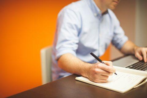 office writing