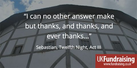 Thanks Sebastian Twelfth Night