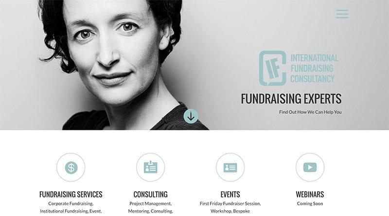 International Fundraising Consultancy Netherlands website