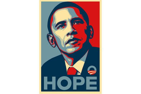 Barack Obama - Hope poster