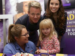 Celebrity fundraising round-up for October 2016