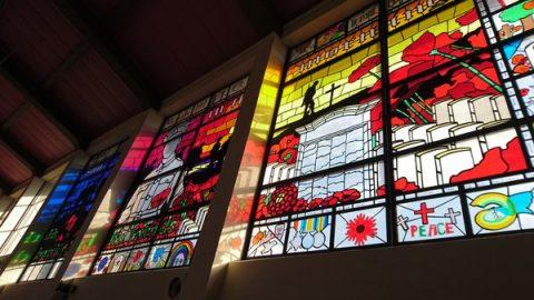 St Matthews WW1 window