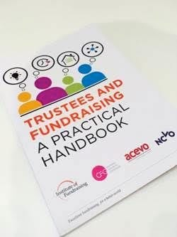 Cover of Trustees and Fundraising - a practical handbook
