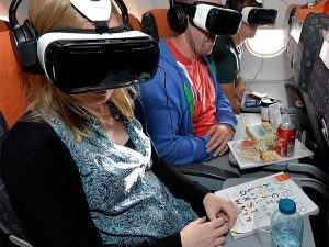 easyJet passengers first to experience UNICEF's virtual reality film – at 30,000 feet!