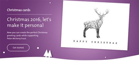 An Post AdMailer corporate Christmas charity cards