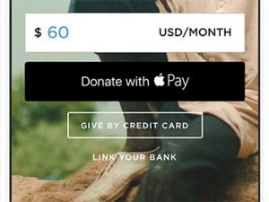 Apple Pay extended to handle donations to US nonprofits
