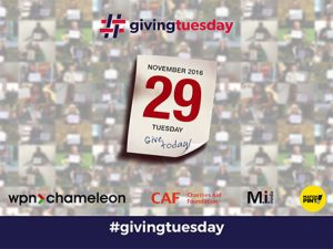 First TV campaign for Giving Tuesday in the UK