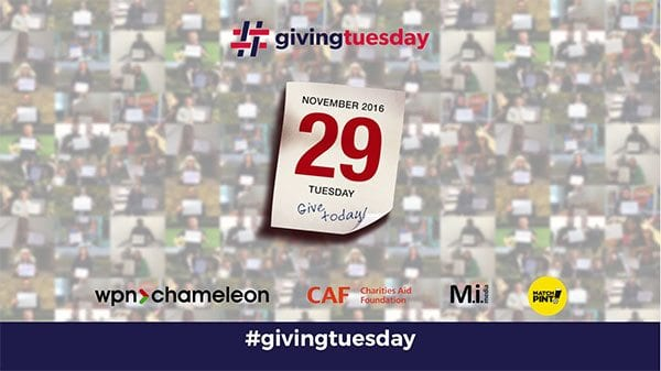 Giving Tuesday 2016 preview advert