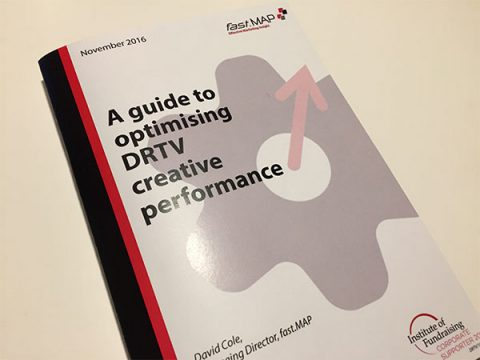 Cover to A guide to optimising DRTV creative performance