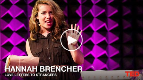 Hannah Brencher's TED talk