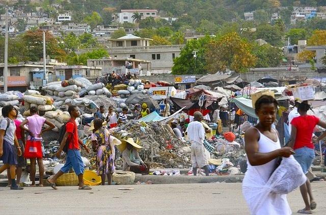 haiti development aid