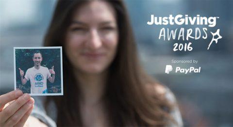 JustGiving Awards 2016