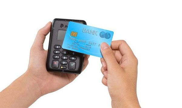 PayPal Pay Here contactless terminal