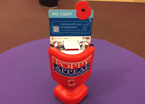 contactless poppy tin