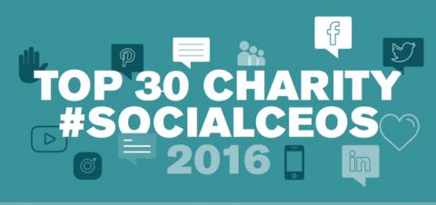 Top 30 charity social ceos