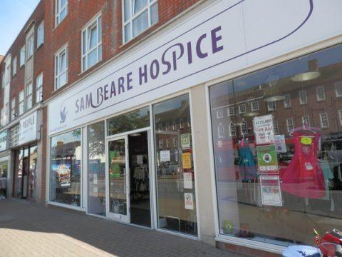Woking & Sam Beare charity shop