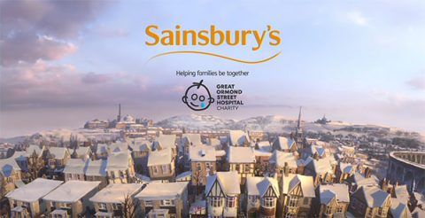 Sainsbury's Christmas TV advert 2016 in partnership with GOSH
