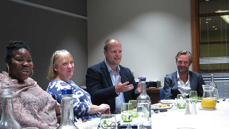 Savoo Lifestyle Giving roundtable