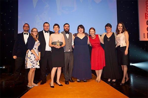 Sightsavers Angel Charity Service award winners