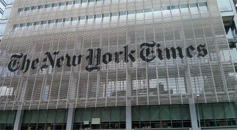 The New York Times building - Pixabay.com